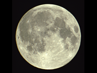 Full Moon First Light (Galileoscope)