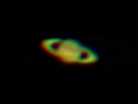 Saturn in Galileoscope