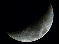 Waxing Crescent (Galileoscope)