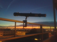 Galileoscope on Rails