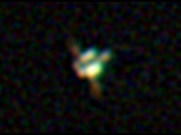 ISS in Galileoscope