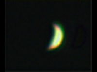 Crescent Venus in Galileoscope