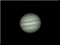 Jupiter with longer exposure