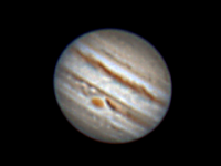 Great Red Spot taken near opposition