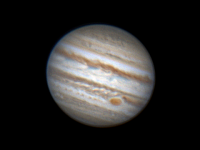 Great Red Spot and Great Seeing