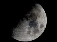 Waxing Quarter Moon Mosaic